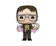 Dwight Schrute Holding Doll (Эксклюзив Funko Shop) из сериала The Office