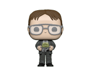 Dwight Schrute with Jello Stapler (PREORDER Mid-Early June) из сериала The Office