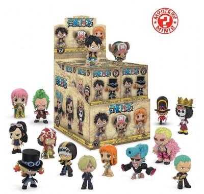 Ван Пис ЗАКРЫТАЯ коробочка мистери минис (One Piece blind box mystery minis) из аниме Ван Пис