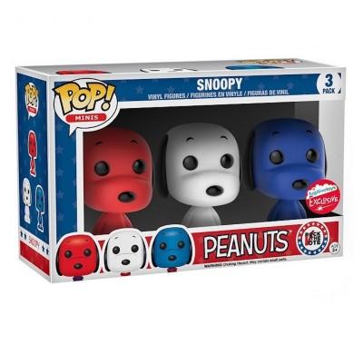 Снупи (Snoopy Rock the Vote 3-pack (Эксклюзив)) из мультика Мелочь пузатая