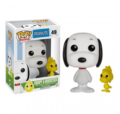 Снупи и Вудсток (Snoopy and Woodstock (Vaulted)) из мультика Мелочь пузатая