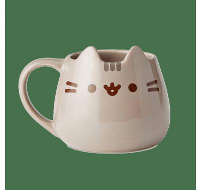 Пушин кружка (Pusheen the Cat Sculpted Mug) из серии Коты Пушин