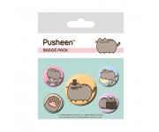 Pusheen Fancy Badge Pack из серии Pusheen