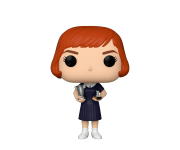 Beth Harmon with Trophies из сериала The Queen's Gambit