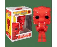 Robot Red Rock Em Sock Em Mattel из серии Retro Toys