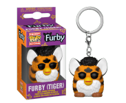 Tiger Furby Keychain (Preorder MID December) из серии Hasbro Retro Toys