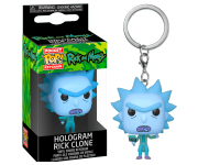 Hologram Rick Clone Keychain (PREORDER ZS) из сериала Rick and Morty
