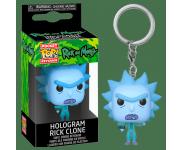 Hologram Rick Clone Keychain из сериала Rick and Morty