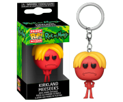 Kirkland Meeseeks Keychain из сериала Rick and Morty
