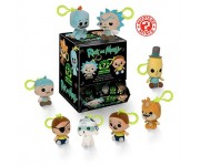 Blind mystery minis plush keychain из мультика Rick and Morty