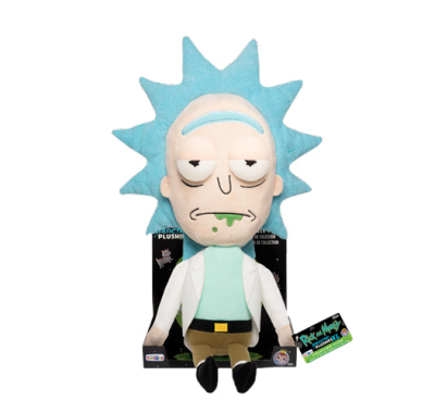 Рик плюш (Rick 16-inch Plush) из сериала Рик и Морти