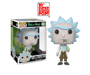 Rick with Portal Gun 10-inch (PREORDER ZS) (Эксклюзив GameStop) из мультика Rick and Morty