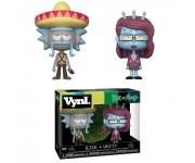 Rick with Sombrero and Unity Vynl. из мультика Rick and Morty