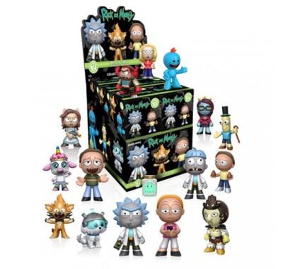 Коробочка мистери минис (Box mystery minis) из мультика Рик и Морти серия 1