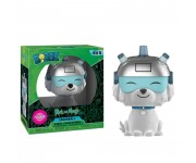 Snowball flocked Dorbz (Эксклюзив GameStop) из мультика Rick and Morty