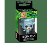 Teddy Rick Keychain из сериала Rick and Morty