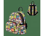 Rugrats Aop Reptar Bar Mini Backpack Loungefly из мультика Rugrats