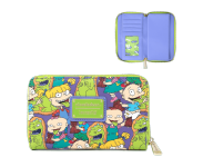 Rugrats Aop Reptar Bar Zip Around Wallet Loungefly из мультика Rugrats