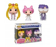 Neo Queen Serenity, Small Lady and King Endymion 3-Pack (Эксклюзив Hot Topic) из мультика Sailor Moon