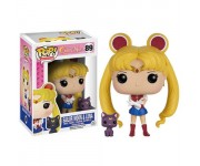 Sailor Moon with Luna из мультика Sailor Moon
