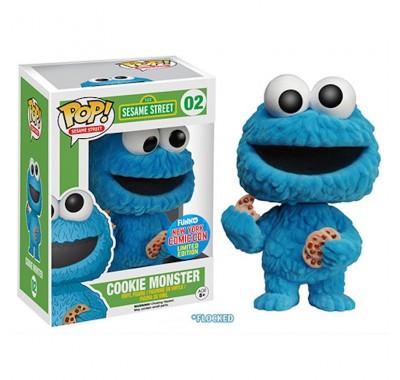 Коржик печеньковое чудовище флокированный (Cookie Monster Flocked NYCC 2015 (Эксклюзив)) из сериала Улица Сезам