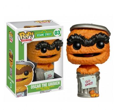Оскар Ворчун оранжевый (Oscar the Grouch Orange Debut (Эксклюзив Entertainment Earth)) из сериала Улица Сезам
