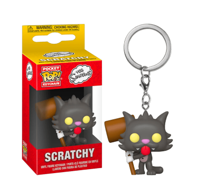 Царапка брелок (Scratchy Keychain) из мультсериала Симпсоны