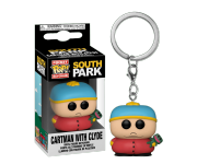 Cartman with Clyde Frog keychain из сериала South Park