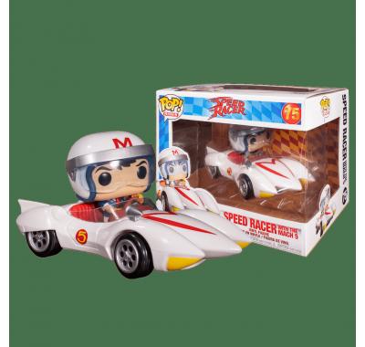 Спиди Рейсер с Мак 5 райд (Speed Racer with Mach 5 Ride) из мультфильма Спиди-гонщик