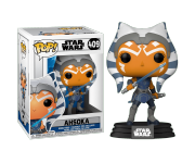 Ahsoka with Blue Lightsaber из мультика Star Wars: The Clone Wars