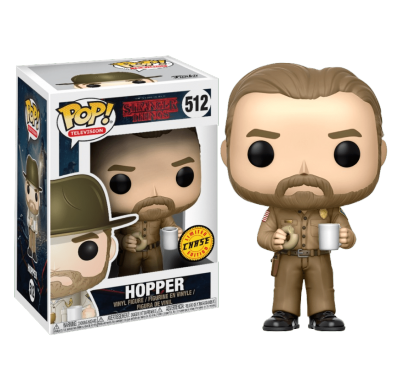 Джим Хоппер без шляпы (Hopper with no Hat (Chase)) из сериала Очень странные дела