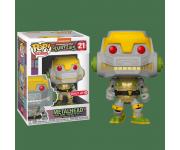 Metalhead со стикером (Эксклюзив Target) из мультсериала Teenage Mutant Ninja Turtles (1987)