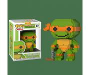 Michelangelo 8-Bit из мультика Teenage Mutant Ninja Turtles