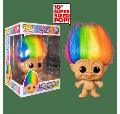 Радужный Тролль 25 см (Rainbow Troll 10-inch) из серии Тролли на удачу