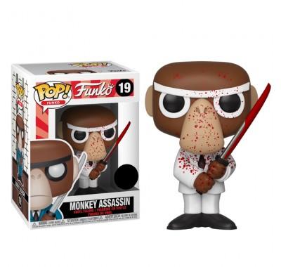 Обезьяна убийца в брызгах крови (Monkey Assassin Blood Splatter (Эксклюзив Funko Shop)) из серии Фантастик Пластик