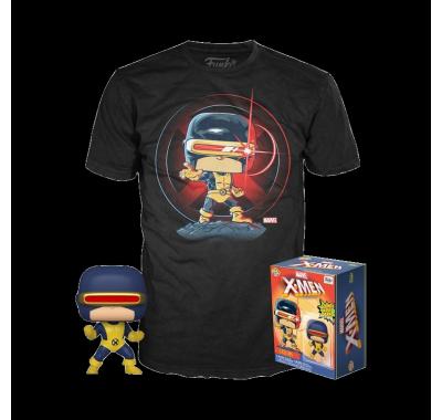 Фигурка и футболка Циклоп первое появление (Cyclops First Appearance POP and Tee (Размер M)) из комиксов Марвел Комиксы