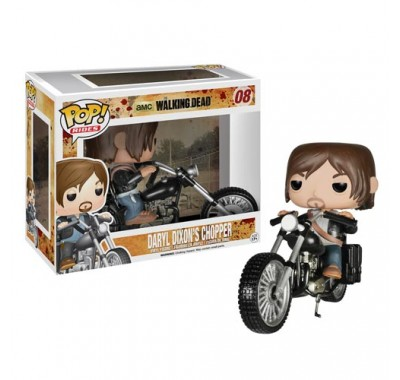 Daryl Dixon with Chopper из сериала The Walking Dead