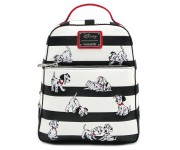 101 Dalmations Striped Mini Backpack (PREORDER LOUNGEFLY)