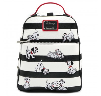101 Dalmations Striped Mini Backpack (PREORDER ZS)