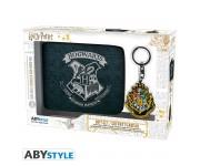 HARRY POTTER ABYstyle Pack Hogwarts Wallet + Keyring (PREORDER FEB)