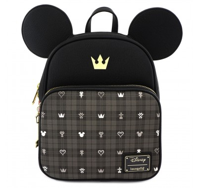 Kingdom Hearts Mickey Convertible Backpack (Preorder Loungefly)