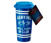 Hawkins AV Club Lid Mug (PREORDER ZS) из сериала Stranger Things