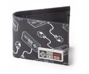 Кошелек Difuzed: Nintendo: NES Controller AOP Bifold Wallet With Rubber Patch из игр Nintendo (Нинтендо)