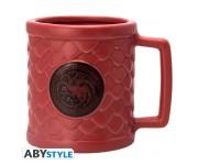 Кружка 3D ABYstyle: Game of Thrones: Targaryen (PREORDER SALE SEPT) из сериала Game of Thrones (Игра Престолов)