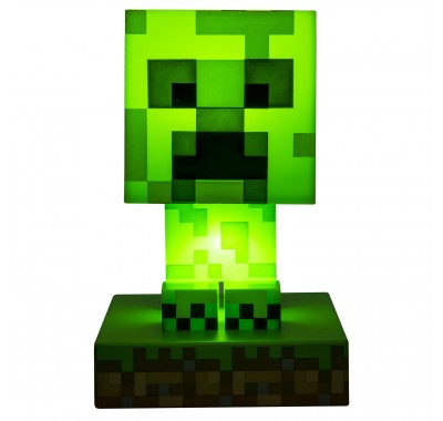 Светильник Крипер (Creeper Icon Light BDP (PREORDER QS)) из игры Майнкрафт