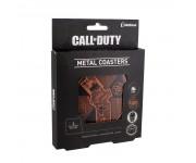 Подставки под напитки Call of Duty Tin Coasters (PREORDER ZS) из игры Call of Duty (Кол оф Дьюти)