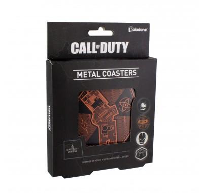 Подставки под напитки Call of Duty Tin Coasters из игры Call of Duty (Кол оф Дьюти)