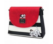 101 Dalmations Striped Crossbody (PREORDER LOUNGEFLY) WDTB1809