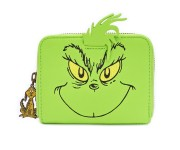 The Grinch Cosplay Zip Around Wallet (PREORDER ZS)