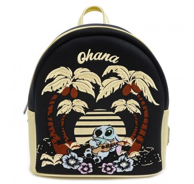 Lilo & Stitch  Mini Backpack With Faux Leather Trim (PREORDER ZS)